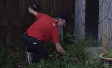 Ewald is tuinvrijwilliger