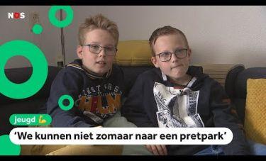 Niels en Jasper zorgen voor hun zieke moeder - Jeugdjournaal