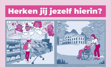 Posters voor Jonge Mantelzorgers