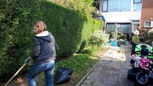 Anita is tuinvrijwilliger