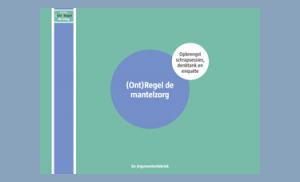 ONDERZOEK - Rapport [Ont]Regel de Mantelzorg - 2019